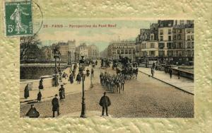 CPA Paris 1e (Dep.75) Perspective du Pont-Neuf (53885)