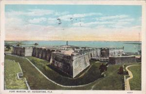 Florida Saint Augustine Fort Marion 1937