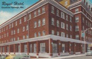 EXCELSIOR SPRINGS , Missouri , 1930-40s ; Royal Hotel