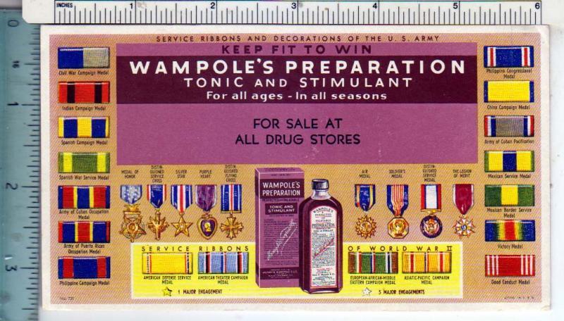 Wampole's Preparation Tonic & Stimulant