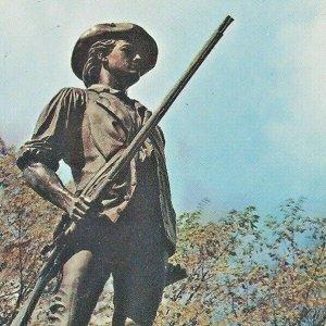National Guard Minutemen Statue Concord Massachusetts Daniel Chester French