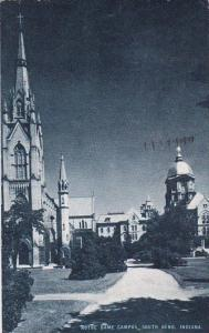 Indiana South Bend Notre Dame Campus 1948