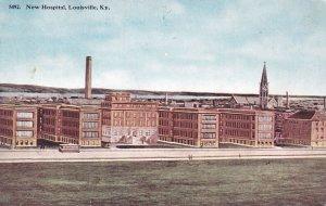 New Hospital, LOUISVILLE, Kentucky, 1915