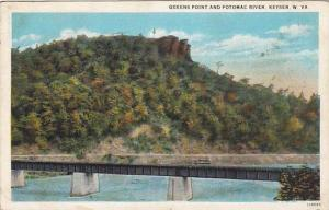 Queens Point and Potomac River, Keyser, West Virginia, PU-1936