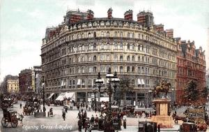 London United Kingdom Postcard Charing Cross London
