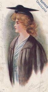 Lowneys Chocolates , Graduation Girl , 1906