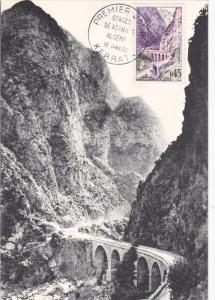 FRANCE, PU-1960; Les Gorges De Kerrata En Algerie