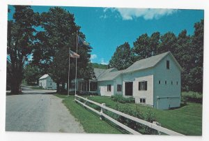 Plymouth Notch VT President Calvin Coolidge Homestead Vintage Vermonet Postcard