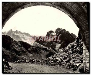 CPM Route du Tourmalet Bareges The Pic Du Midi in the first tunnel
