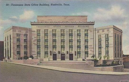 Tennessee Nashville Tenessee State Office Building