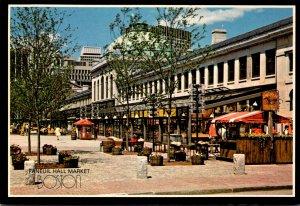 Massachusetts Boston Faneuil Hall Marketplace