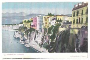 Sorrento Italy Campania Panorama Vtg De Luca Gentile Napoli