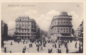Belgium Brussells Place de la Bourse