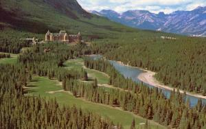 Canada - Alberta. Banff National Park, Banff Springs Hotel & Golf Course