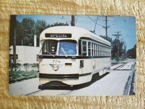 KANSAS CITY PUBLIC SERVICE NO 778,A PCC CAR,KANSAS CITY,MISS.TROLLEY POSTC*P27