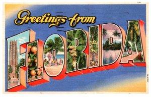 Florida    LARGE LETTER