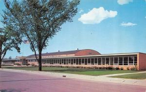 FOND DU LAC, WI Wisconsin    WINNEBAGO LUTHERAN ACADEMY    1961 Chrome Postcard
