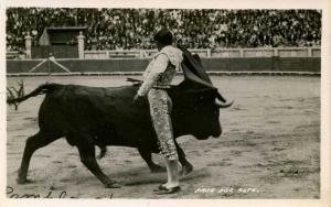 Mexico - Bullfight  *RPPC