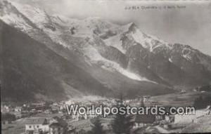 Mont Blanc Swizerland, Schweiz, Svizzera, Suisse Chamonix  Chamonix