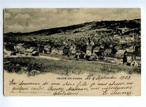 131548 Switzerland Chaux-de-Fonds Vintage postcard