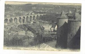 Panorama De Clausen, Luxembourg, 1900-1910s