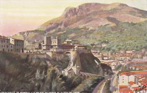 MONTE CARLO, Monaco, 1900-1910's; Principaute De Monaco, Le Palais Du Prince ...