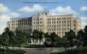 Charlotte Memorial Hospital Charlotte NC 1944