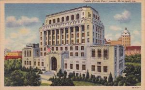 Louisiana Shreveport Caddo Parish Court House 1949