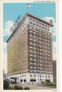 Le Claire Hotel Moline Illinois 1949