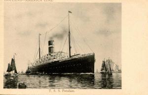 Holland-America Line - T.S.S. Potsdam