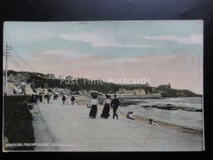 Isle of Man: Douglas QUEENS PROMENADE c1907 - Old Postcard by Lewis Series