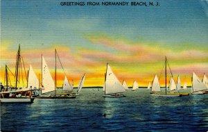 NJ - Normandy Beach. Sailing