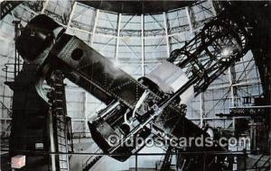 Space Postcard Post Card Mt Wilson Observatory, CA, USA Giant 100 Inch Telesc...