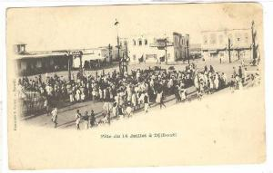 Fete Du 14 Juillet A Djibouti, Africa, PU-1903