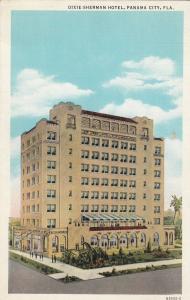 PANAMA CITY, Florida, 30-40s; Dixie-Sherman Hotel