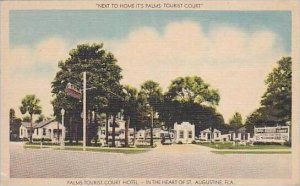 Florida St Augustine Palms Tourist Court Hotel