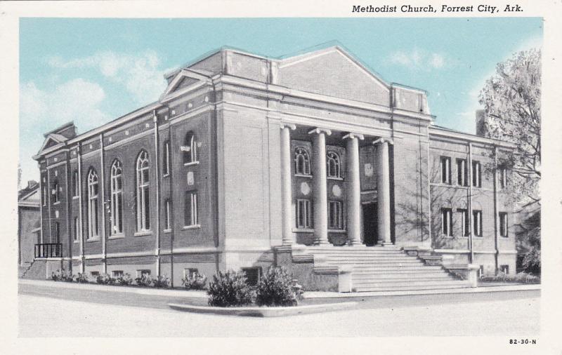 FORREST CITY, Arkansas, 1900-10s;  Methodist Church