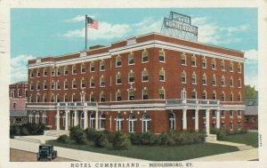 MIDDLESBORO , Kentucky , 1910s; Hotel Cumberland