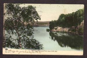QUEBEC AYER'S CLIFF View of Elm Wood Park Postcard PC