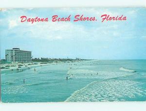 Pre-1980 SCENE AT BEACH Daytona Beach Florida FL M7632