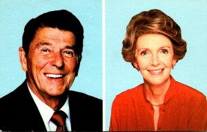 President Ronald Reagan and First Lady Nanncy 1984
