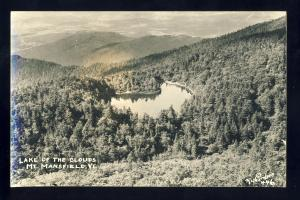Mount Mansfield, Vermont/VT Photo Postcard, Lake Of The Clouds