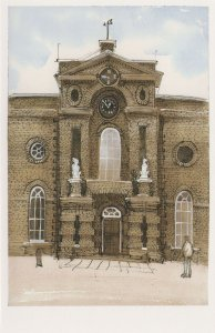 The Royal Arsenal Woolwich Old Military Academy London Postcard