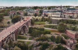 RP; LUXEMBOURG, PU-1911; Pont Adolphe Et Vue Partielle Sur La Ville