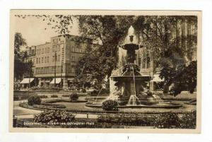 RP, Albert Leo Schlageter-Platz, Düsseldorf  (North Rhine-Westphalia), Germa...