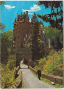 BURG ELZ, Wierschem, Germany, unused Postcard