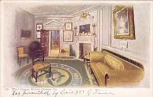 West Parlor Mount Vernon Virginia