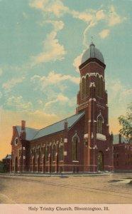 BLOOMINGTON , Illinois , 1900-10s ; Holy Trinity Church