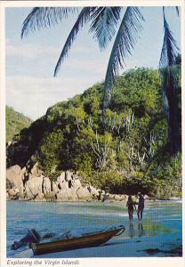 Beach Scene Exploring The Virgin Islands
