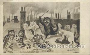 Artist Signed Louis Wain Cat, Cats Postcard Postcards J.B & Co. Artist Wain L...